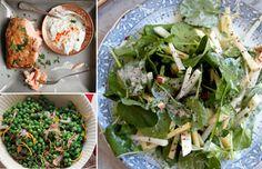 Menu: A Spring Salmon Dinner