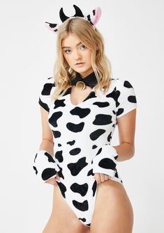 Cow Halloween Costume, Halloween Outfits, Adult Halloween, Mouse Costume, Women Halloween, Womens Bodysuit, Lace Bodysuit, Bodysuit Costume, Bikini