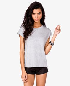 Zippered French Terry Tee