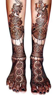 Mehendi Designs - Bridal Feet Mehendi with Rajasthan Deisgns | Mehendi Artists in Delhi | WedMeGood #mehendi #footmehendi #wedmegood