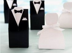 50 Formal WHITE Bridal Dress Wedding FAVORS Gift Boxes ** Check this awesome product by going to the link at the image. (This is an affiliate link)