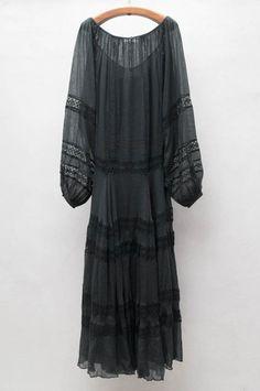Black Iman Dress by Mes Demoiselles   shopheist.com