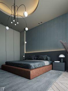 CGI - BEDROOM on Behance 3ds Max Vray, Autodesk 3ds Max, Adobe Photoshop, Modern Bedroom, Master Bedroom, Design Digital, Interiores Design, Decoration, Architecture Art