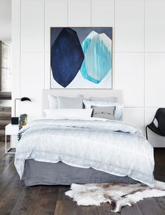 American Cotton/Linen Fabric - Dot Design - Riven - Abode Living