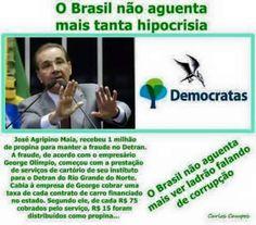 IRAM DE OLIVEIRA - opinião: Hipócrita corrupto