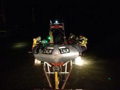 Ricardo de Graaf @TXRicardo Uitzicht vanuit de Wippertruck bij lancering van @KNRMtexel reddingboot Zalm voor oefening @knrm