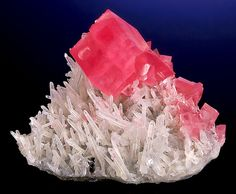 Rhodochrosite with Quartz and Hubnerite from Colorado    by Exceptional Minerals