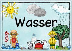 """Themenplakat """"Wasser"""" Ein neues Themenplakat für den Sachunterricht ist fertig. Es stellt das Thema """"Wasser"""" in den Vordergrund. Ich ho..."""