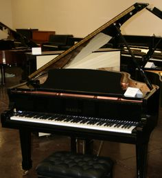 This is our 5 ft. 10 in. Hailun HG 178 Grand Piano! This piano has a rich tone and is built with pride and attention to details.