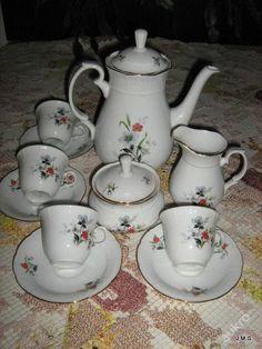 Starý karlovarský porcelánový servis Natalie/THUN