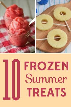 Looking for frozen summer treats that will delight kids and adults alike? These delicious summer treats will please even the pickiest eaters. Frozen Summer, Summer Fun, Frozen Yogurt Dots, Healthy Treats, Healthy Kids, Healthy Recipes, Parchment Paper Baking, Summer Treats, Frozen Treats