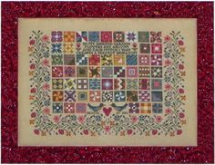 $12.32 Blue Ribbon Designs 'Quilted Garden'  One of my favorites!