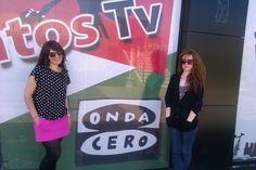 Con la actriz, directora, coreógrafa y escritora Fredeswinda Gijón. Encontrarse a tu amiga en los estudios de OndaCero Puertollano