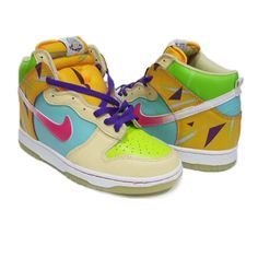 #3 Most colourful high tops - How amazing are these!!