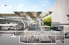 Frankfurt Forecourt Masterplan < Projects | Grimshaw Architects