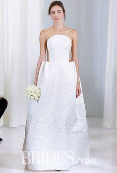 Brides: Angel Sanchez Wedding Dresses - Fall 2016 - Bridal Runway Shows - Brides.com
