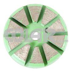 Dez S Magnético 3''. Desbaste de concreto - polimento de concreto - lapidaçnao de concreto - ferramentas para concreto - abrasivo para concreto - www.colar.com