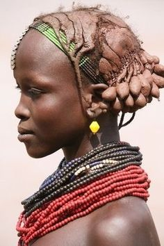 from the world photography collection of Richard Notebaart of Radboud University, Netherlands. African Tribes, African Women, Population Du Monde, Black Is Beautiful, Beautiful People, Africa People, Interesting Faces, Interesting History, Tribal People