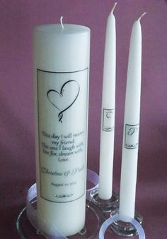 Extra Tall Ribbon Heart Swarovski Crystal by BridalMemories