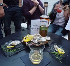 Bowmore team one's entry in the shuck off.