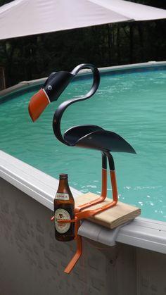 pvc birds,yard art,dock art,pool art, handmade crafts