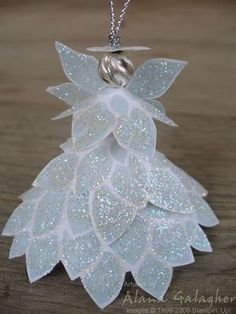 Coffee filter angels christmas craft you can make yourself angels this fabulous flower angel is one of the best handmade christmas ornaments i have seen yet diy solutioingenieria Choice Image