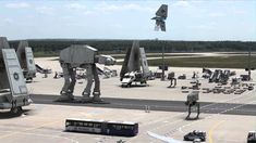 Fake 'Star Wars Episode VII' Leaked Set Footage of Imperial Forces Taking Over an Airport in Frankfurt, Germany