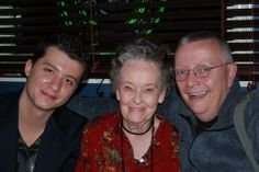 I love this picture!   Paranormal State - Ryan Buell, Lorraine Warren and Chip Coffey