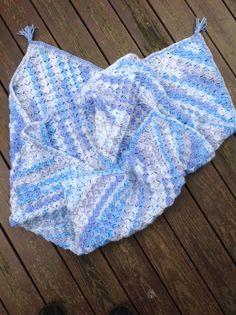 OYA's WORLD- Crochet-Knitting: Crochet: Baby Blanket (Box Stitch)