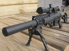 McMillan CS5 - Concealable Subsonic/Supersonic Suppressed Sniper System