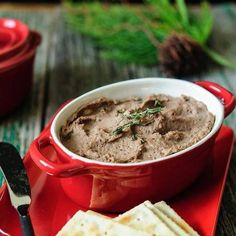 Chicken Liver Pâté With Apple And Thyme - Chicken Liver Pâté with Apple and Thyme - delicious and easy appetizer, perfect for entertaining