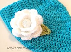 Good morning readers! I'm still on my crochet hat kick, and this time I've had fun with a cute crochet flower beanie for the girls! This is super easy to make, and you can knock one out in an evening while watching your favorite TV show or movie. Except that you have to pay attention. Because there is counting involved.…