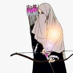 I love niqab Anime Muslim, Muslim Hijab, Hijab Niqab, Muslim Girls, Muslim Couples, Tmblr Girl, Hijab Drawing, Islamic Cartoon, Islam Women