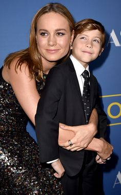 Brie Larson & Jacob Tremblay from Movie Premieres: Red Carpets and Parties!  The Room co-stars reunite for the premiere of their Oscar-buzzy film at the Pacific Design Center.