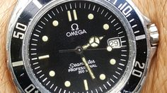 Omega Seamaster quartz from the mid 1980s