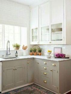 Best rustic farmhouse gray kitchen cabinets ideas (12)