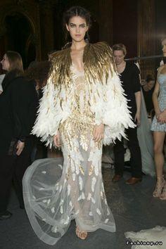 Zuhair Murad Haute Couture Весна-Лето 2013 (Backstage и детали) - Покупки и Мода - 1711937 - Babyblog.ru