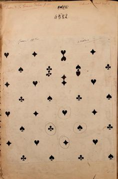 """French textiles   Paris, France   1863   """"mounted illustrations are chiefly watercolor drawings of textile designs"""""""