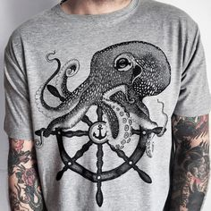 The octopus symbolizes mystery and intelligence. So is it any wonder that this…