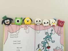 Disney Tsum Tsum bookmarks
