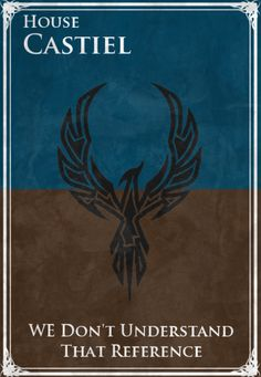 rougevelvet, Supernatural Game of Thrones [x]