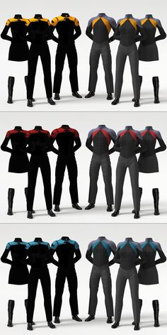 Star Trek Post-Film RPG Uniform Concept by Zaarin1