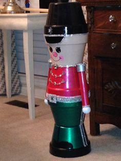 36 inch Clay pot soldier.... my favorite!