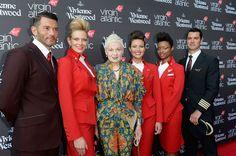「ヴィヴィアン・ウエストウッド」がデザインしたヴァージン アトランティック航空の新ユニフォームがお披露目。