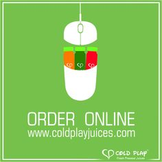 NowCold Play Juices are just a click away! Order online at www.coldplayjuices.com #online #shopping #juices #LetsColdPlay #healthy