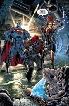 Red Hood And The Outlaws Captures Victor Zsasz