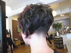 short bob haircut with shaved nape - Google Search