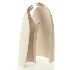 Ceramic Nativity- simple elegance