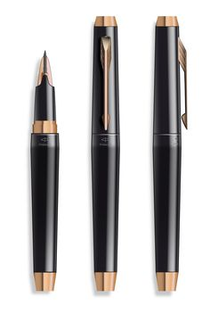 Ingenuity Parker pen 2011 Parker line. Graf Von Faber Castell, Goulet Pens, Pen Design, Pen Turning, Writing Pens, Dip Pen, Fountain Pen Ink, Rollerball Pen, Pen And Paper