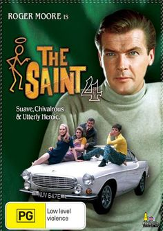 "Roger Moore is ""The Saint"""